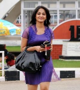 anushka in panchakshari film