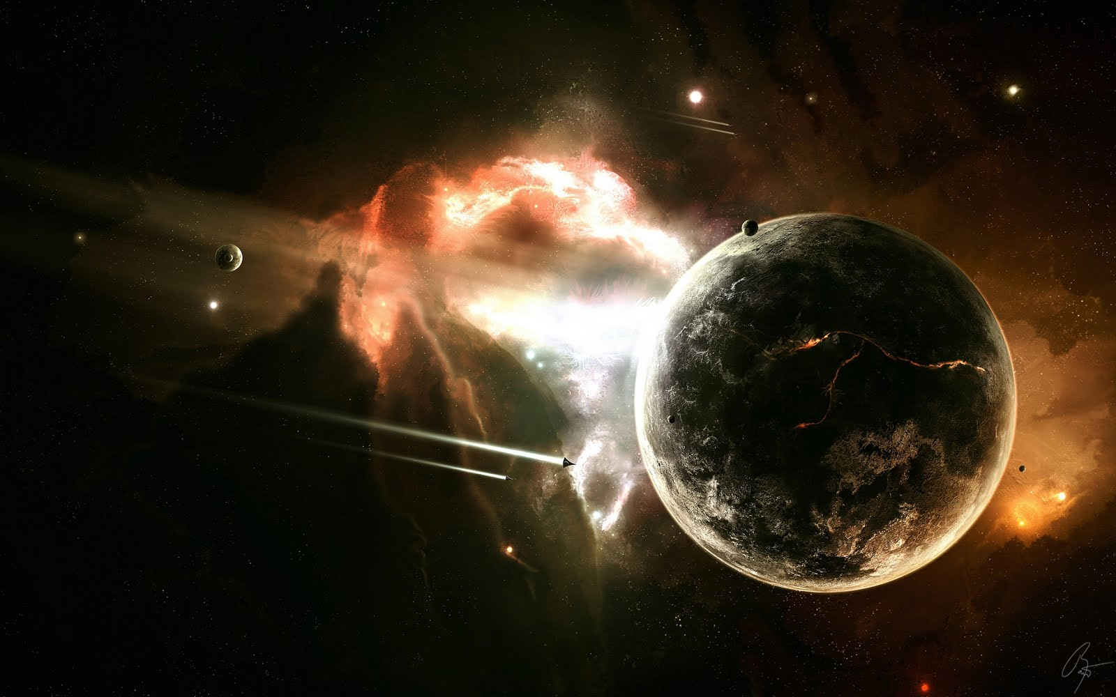 Hd Space Wallpapers 1080p: HD Space Wallpaper [1080p+]