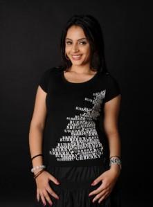 suhani in black dress