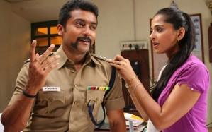 surya and anushka in singam movie