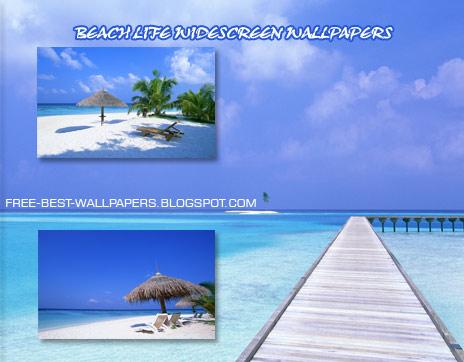 beach wallpaper desktop widescreen. Hi-resolution wide desktop