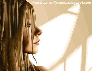 Download Free Best Windows XP-VISTA Wallpapers- Vector Girls Pictures